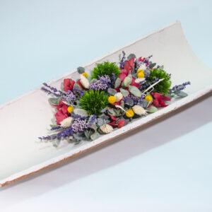 lavanda preservada hortensia preservada y otras flores preservadas y flores secas