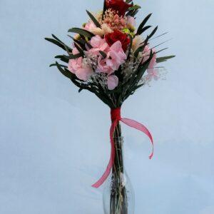 Ramo de flores preservadas para regalar
