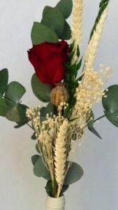 Rosa preservada realizada para San Jordi 2018