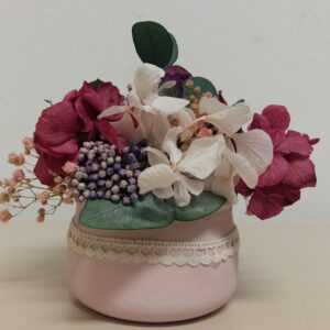 Composición floral para el día de la madre
