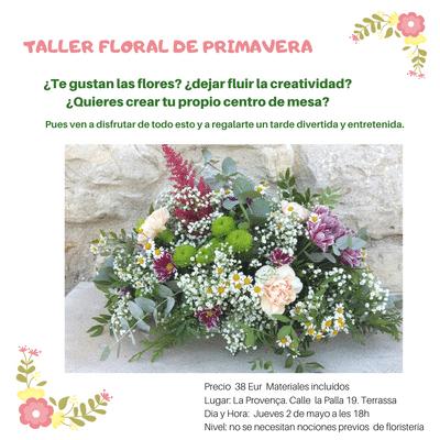Taller floral en Terrassa