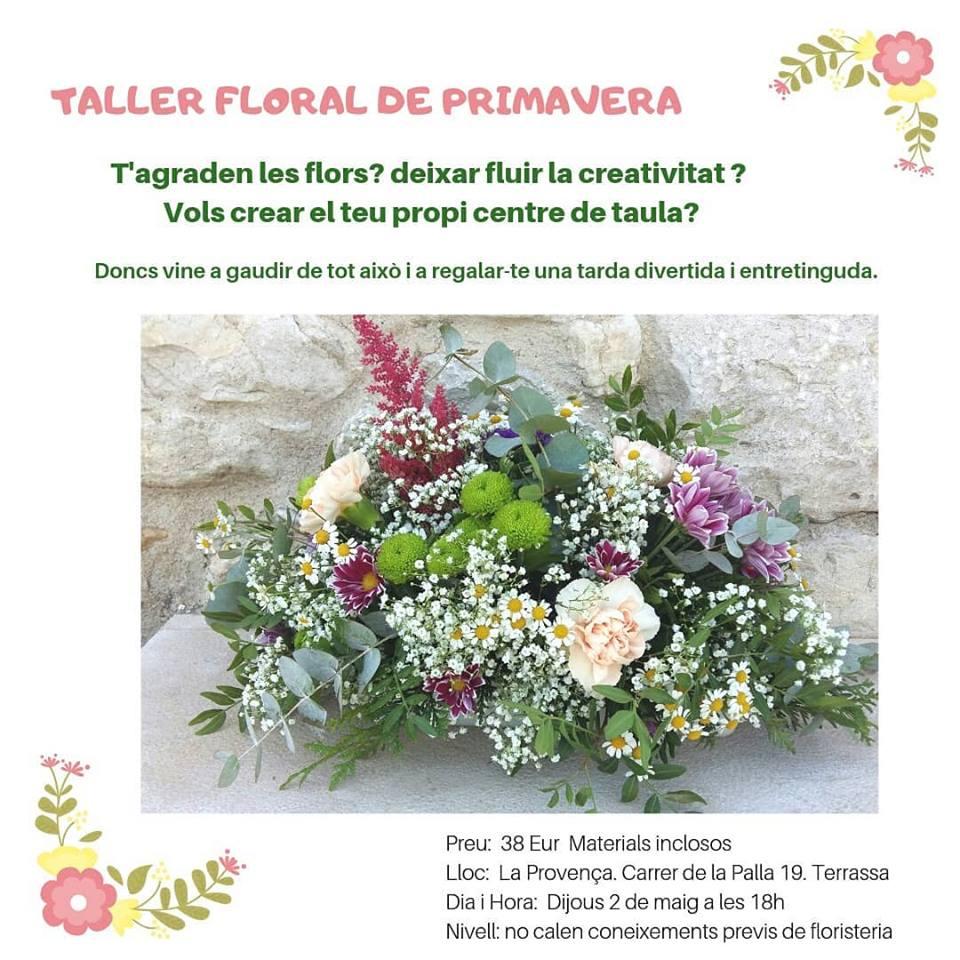 Taller floral. Terrassa Sabadell