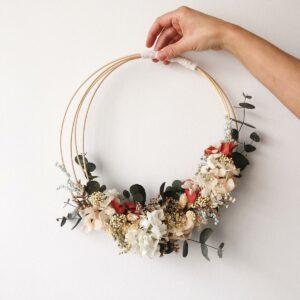 Decoración floral para interiores