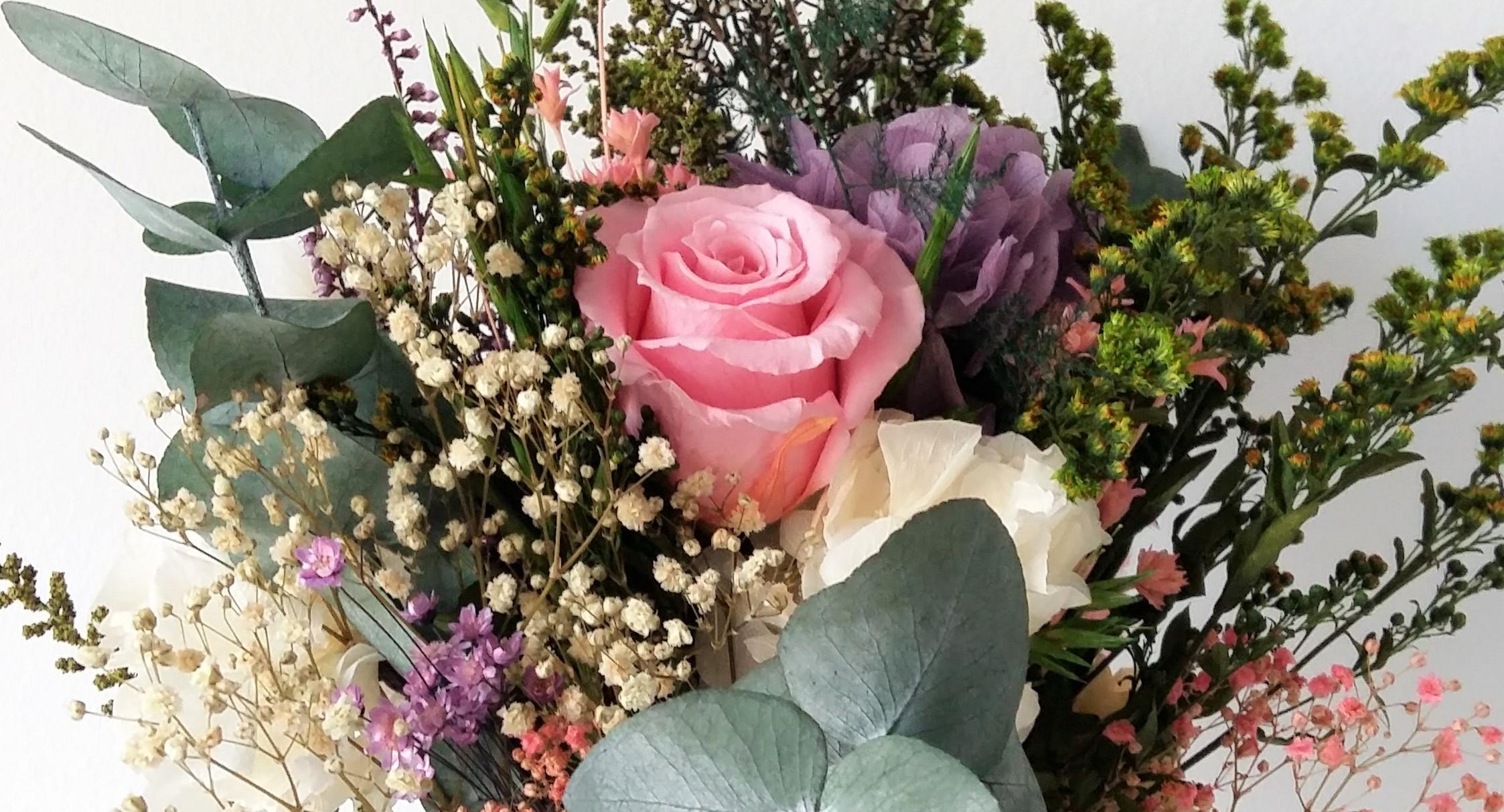 Ramos de flores.