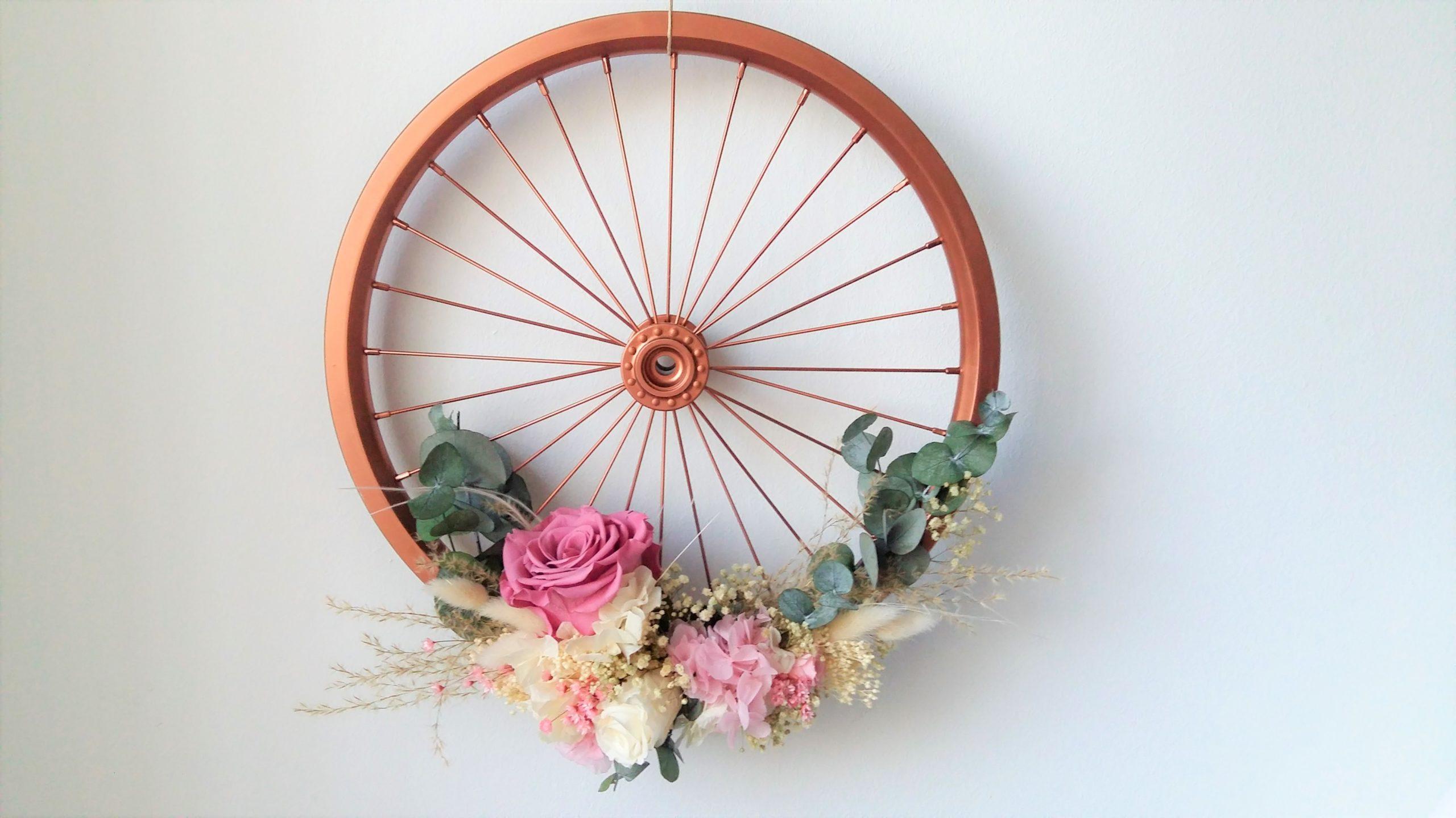 Regalo personalizado con flores preservadas