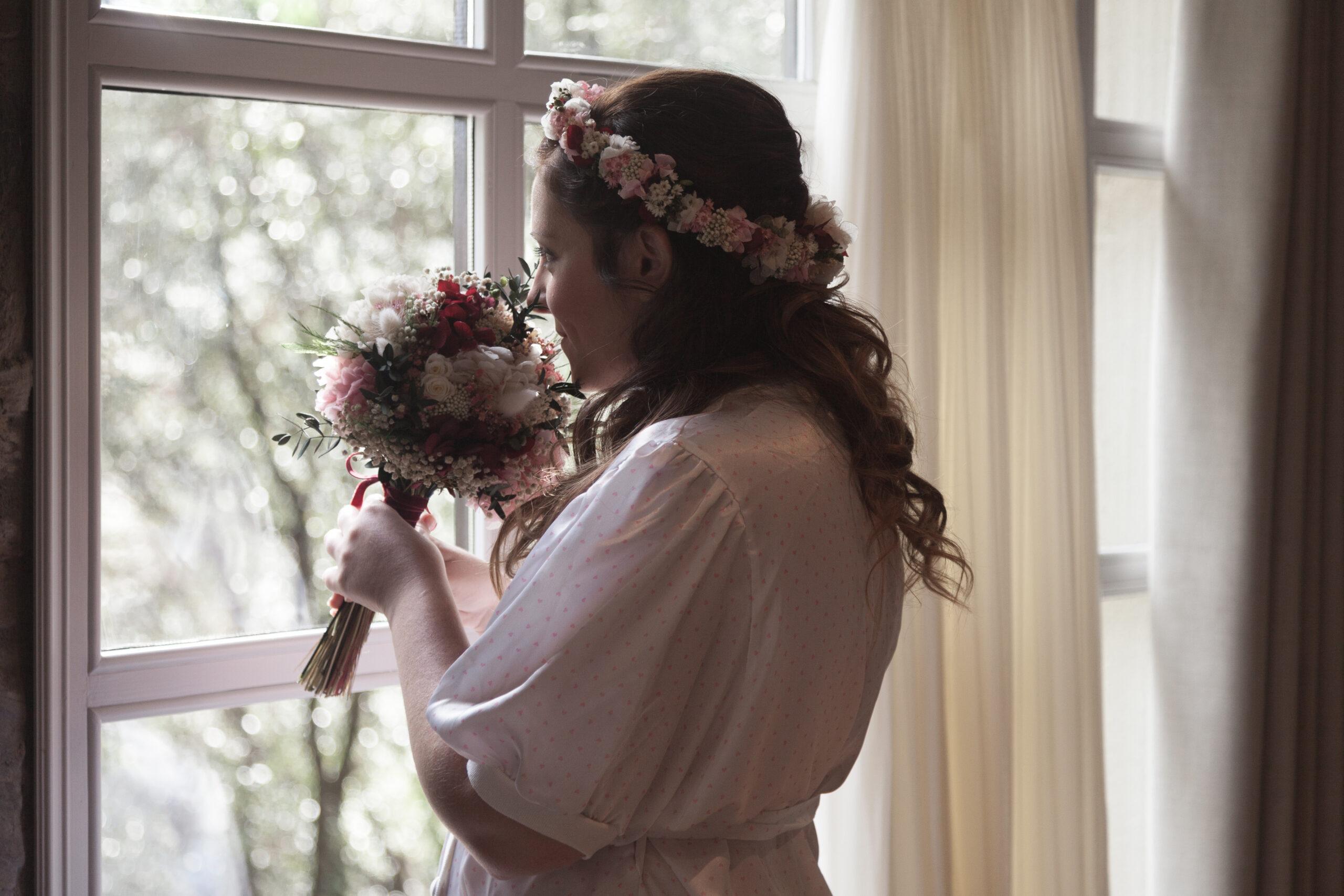 Rams de núvia preservats