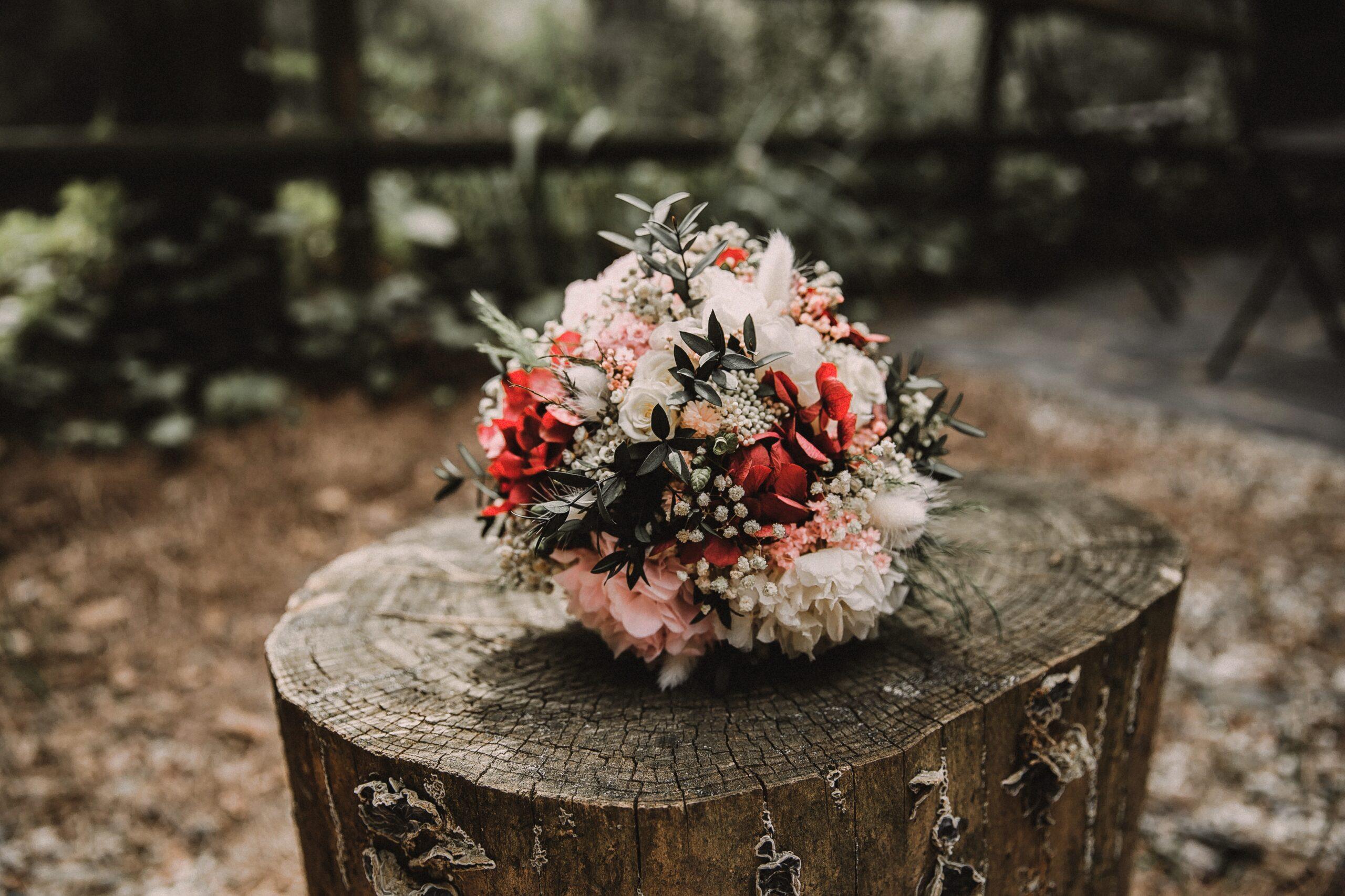 Ram de flors preservades